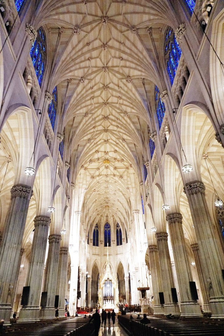 St. Patrick's Cathedral. We stopped by this beautiful church after breakfast to say our prayers.