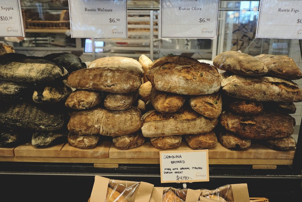 Wish I could take bread smells home with me. Just the smells.