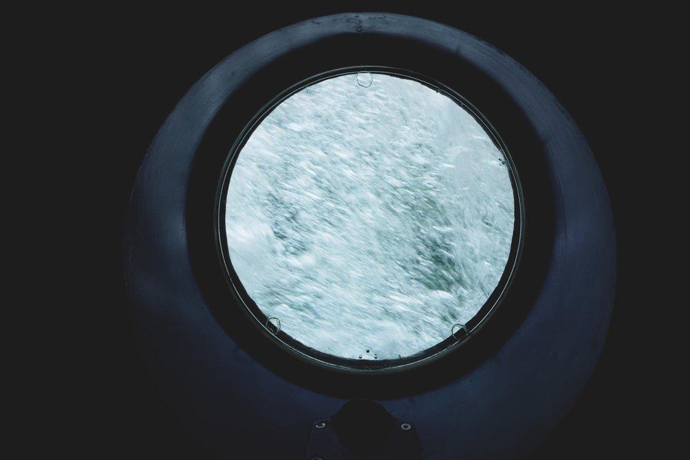 Finding Nemo underwater submarine ride that I've never been on.