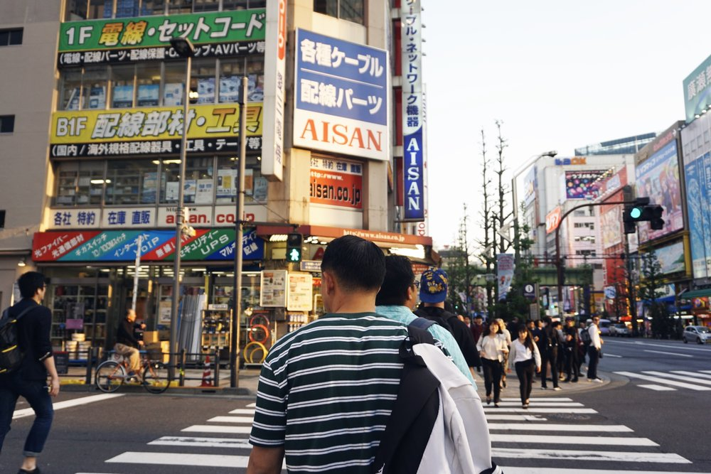 After Tokyo SkyTree we walked to Akihabara which is Anime City. Wish I got photos of all the shops we walked into, just figurines on figurines. We tried so hard to find my best friend an Inuyasha figurine but the only one we saw was $90 and super, super tiny. We left empty handed and the memory of me accidentally walking into an area of a store dedicated to Hentai. Don't ever walk downstairs of an anime comic shop or else you will encounter questionably sweaty men and images I wish I could unsee o_o