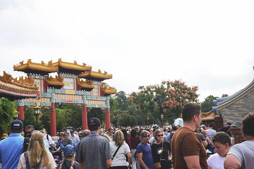 A crowded China.